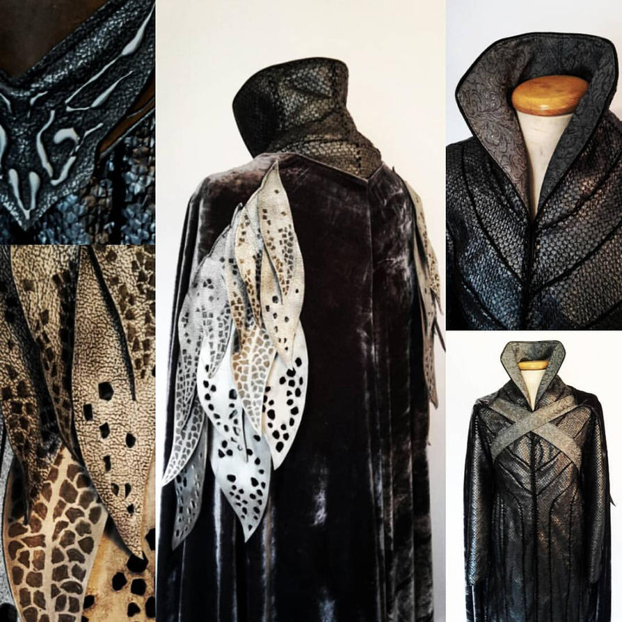 Thranduil The Hobbit costume Lord of the Rings elf by Volto-Nero-Costumes ... & Thranduil The Hobbit costume Lord of the Rings elf by Volto-Nero ...