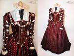 Queen Elizabeth I of England Renaissance garment