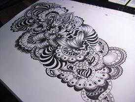 Black and white 2 by MichaillaMorphine
