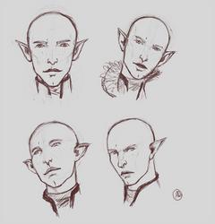 More Solas Portrait Practice