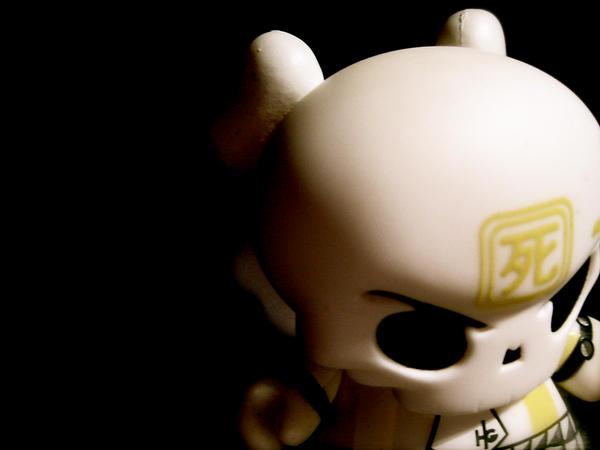 GID skullhead dunny by huck ge by modaxxa