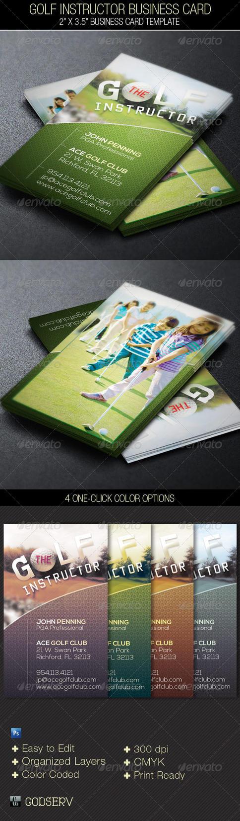 Golf instructor business plan
