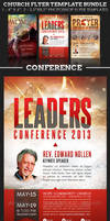 Church Flyer Template Bundle: Conference