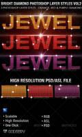 Bright Diamond Photoshop Layer Styles Vol 3