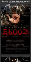 Portrait of The Blood Church Flyer Template