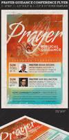 Prayer Guidance Conference Church Flyer Template