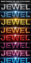 Bright Diamond Photoshop Layer Styles Bundle