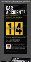 Doctors PIP Law Rack Card Template