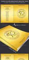 Church Golden Anniversary Magazine Cover Template