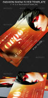 Fashion Show Flyer Photoshop Template by Godserv