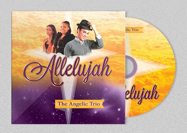 Allelujah Church CD Artwork Template by Godserv