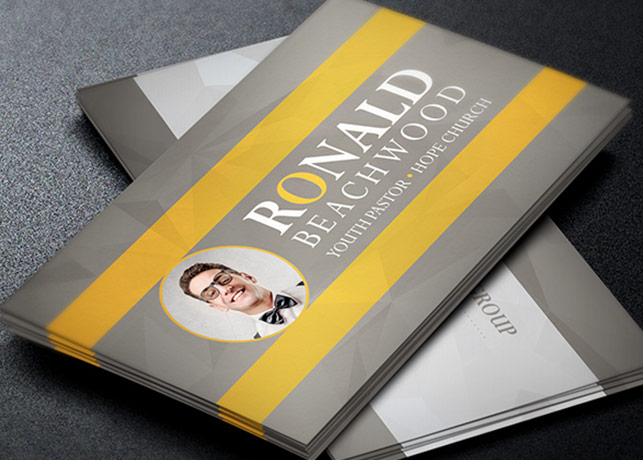 Youth Pastor Business Card Template by Godserv on DeviantArt