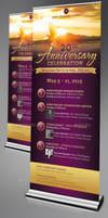 Church Anniversary Banner Template by Godserv