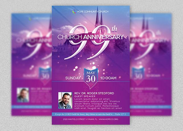 Church Celebration Flyer Template by Godserv on DeviantArt
