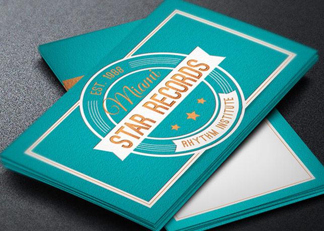 Recording Studio Business Card Template by Godserv on DeviantArt