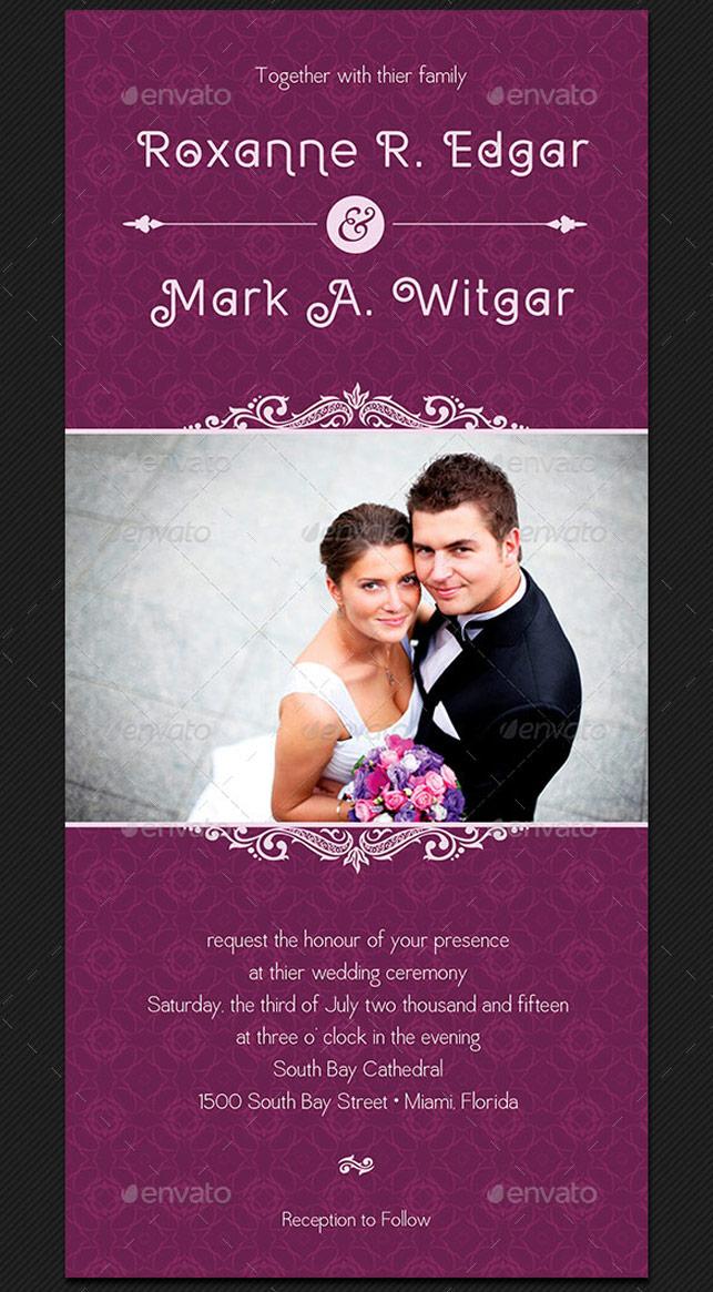 Wedding invitation card template by godserv on deviantart wedding invitation card template by godserv stopboris Gallery