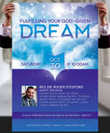 Dream Church Flyer and Poster Template