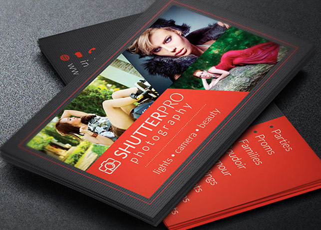 Photography Business Card Template By Godserv
