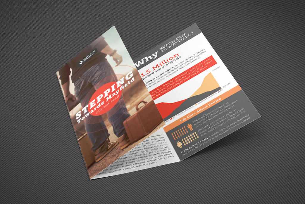 Church Missions Tri-Fold Brochure Template can be by Godserv