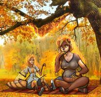 TF - COM: Autumn gets Sticky by BeingObscene
