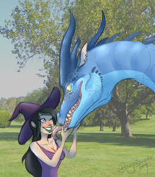 Dating and Dragons: PDA