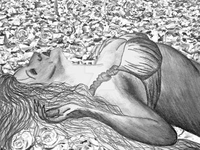 Lying in a Bed of Roses by Shadowed-Star18