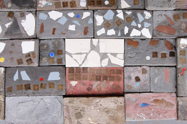 A Display of Mosaic Bricks 2018