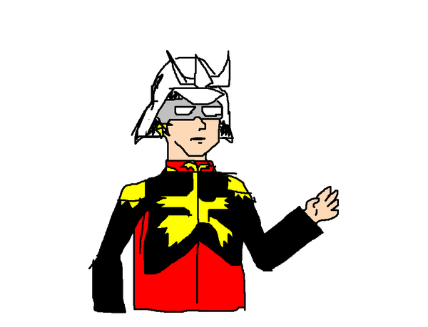 char aznable by agnosticnihlist