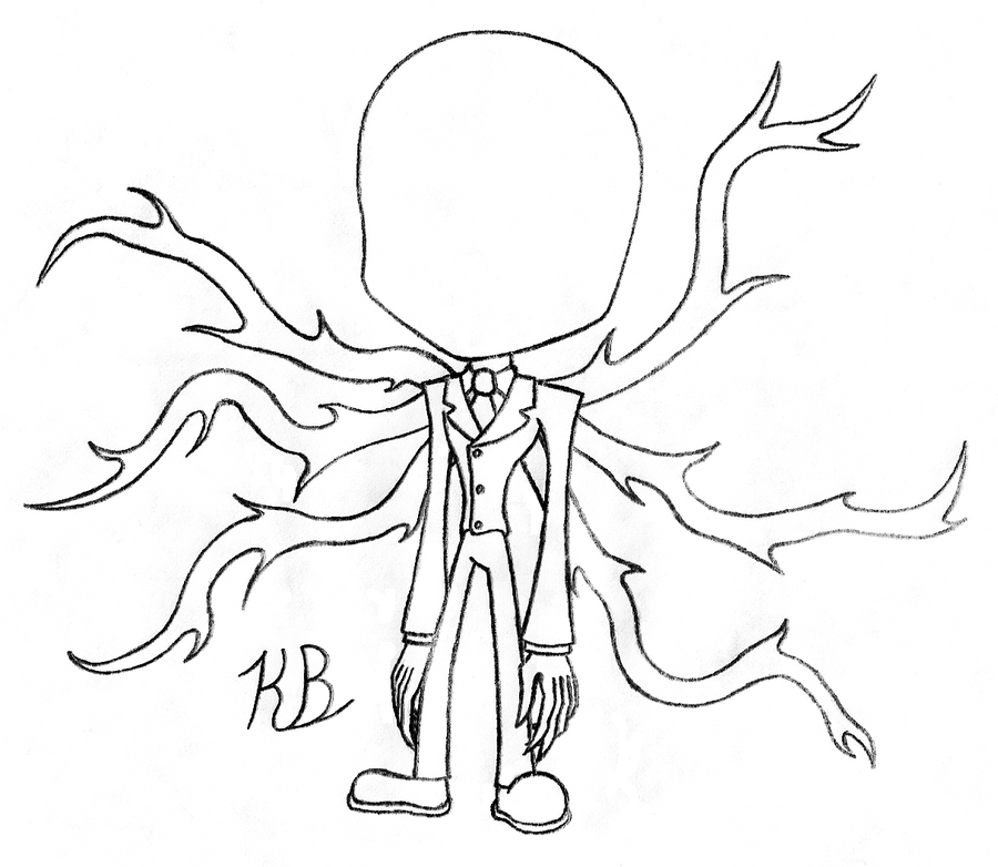 Slender pages print out the image kid for Slender man coloring pages