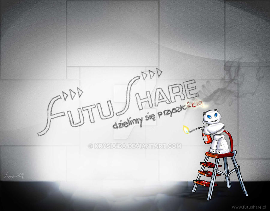 futushare wallpaper by krysiaida