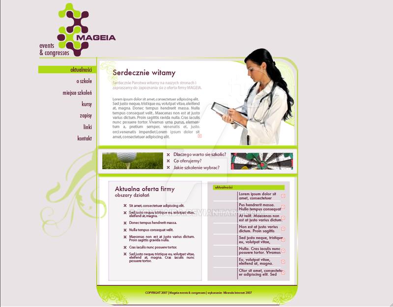 strona rok 2007 medyczna by krysiaida