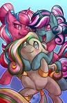Twinkle eye crystal ponies