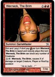 Brimstonne's Magic Card