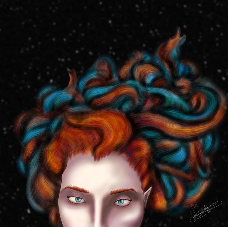 Vanessa - Speed Paint by Flooboo