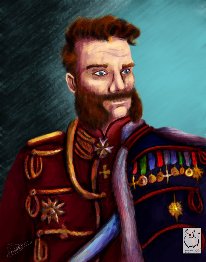 Sir MuttonChops by Flooboo