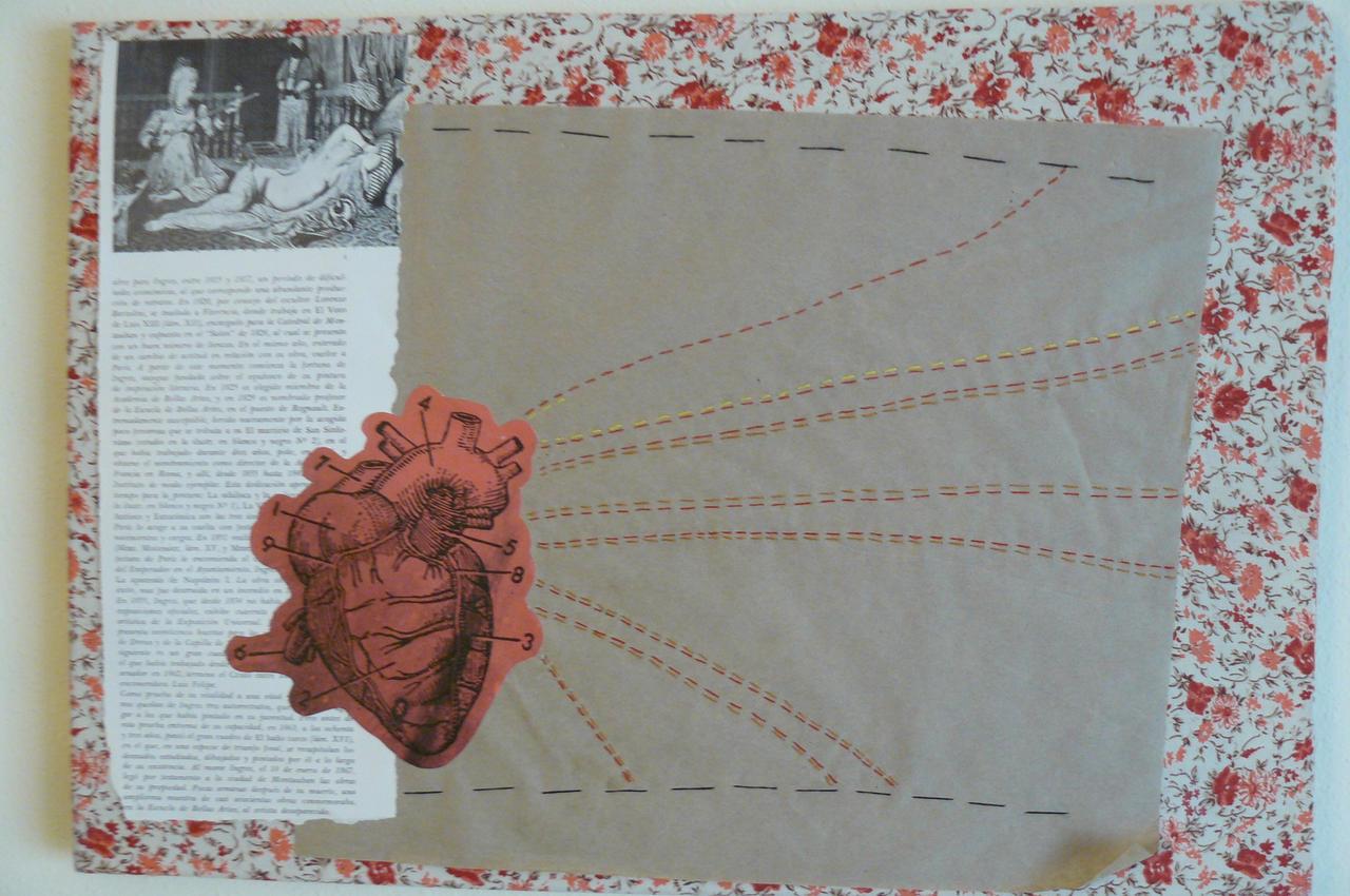 A dead artist's heart by Keinmal