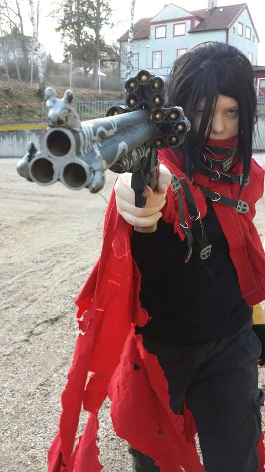 Vincent Valentine shooter by Sammyman92
