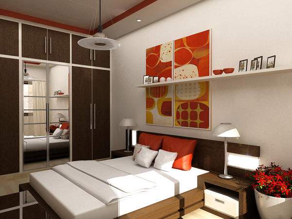 Bedroom by jad sw on deviantart for Disena tu habitacion 3d