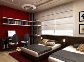 boys bedroom by Jad-sw