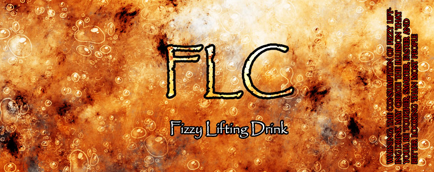 Fuzzy Lifting Drink Numba3 by BlackFiber