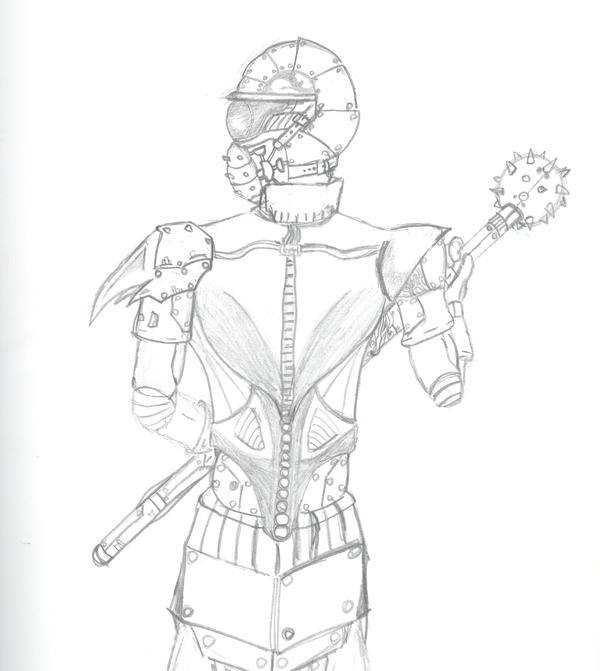Concept 2 Corps Warrior 1 by BlackFiber