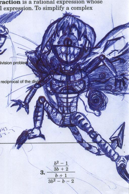 Fighting Doll pen version by BlackFiber