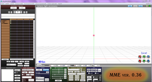 MMD version 7.96 and  MME version 0.36 (downloads)