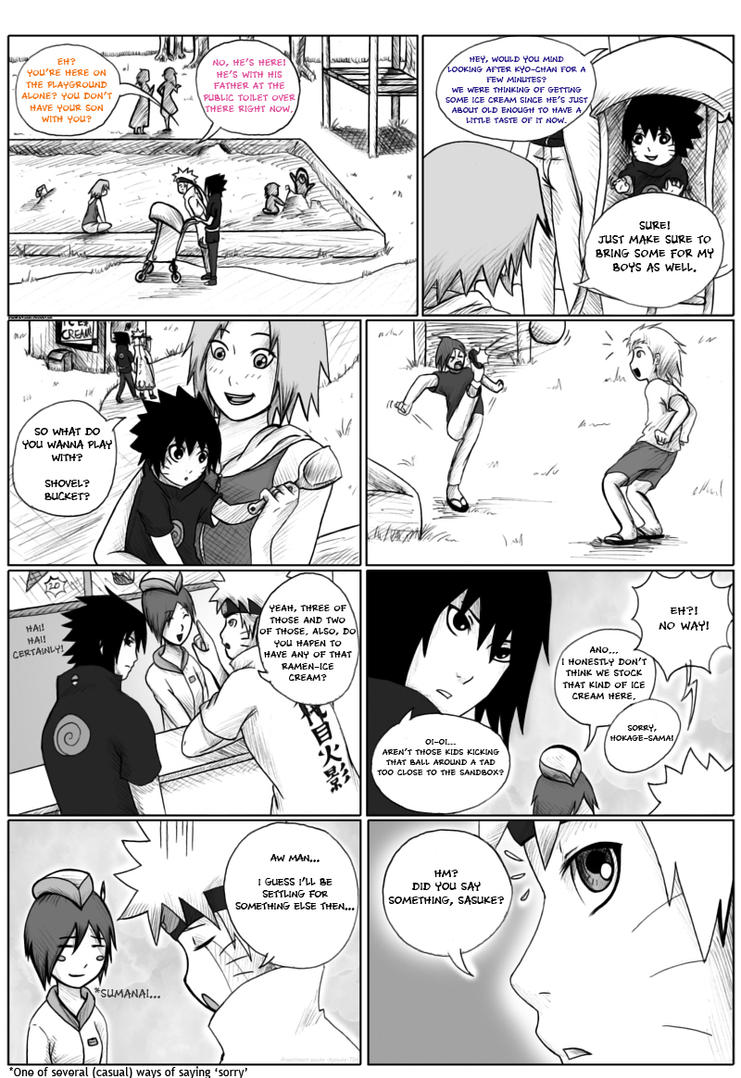 Kyo's First Word (Page 10) by PRoachHeart-Sasuke