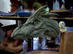 Dragon, clay sketch 3