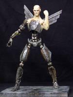Nazi Cyborg full body by DaveGrasso