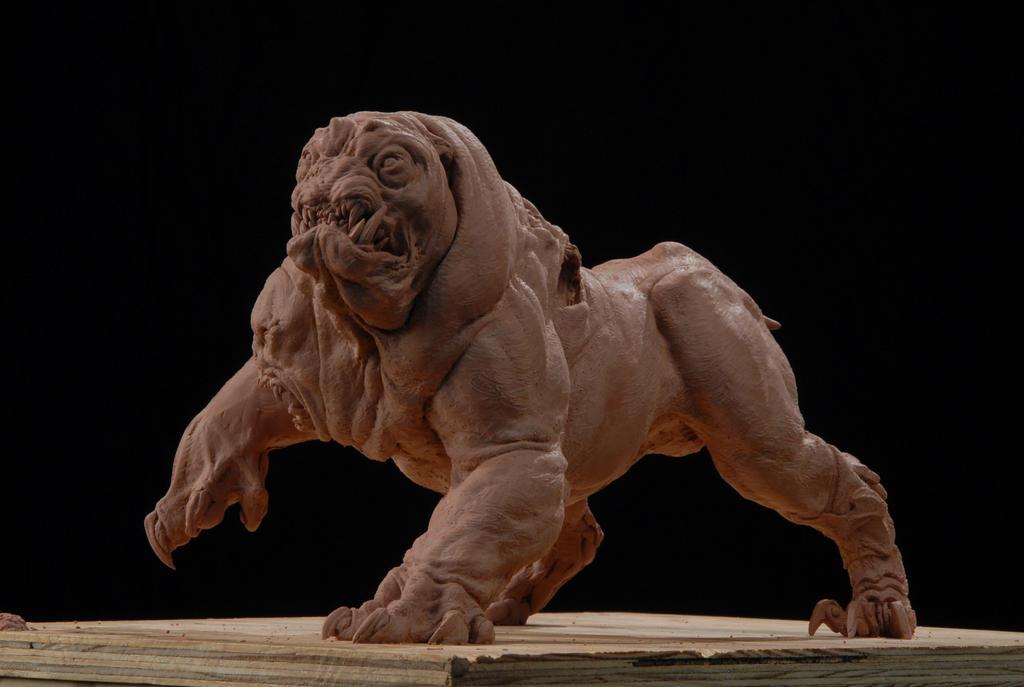 Yrdrig, three headed dog by DaveGrasso