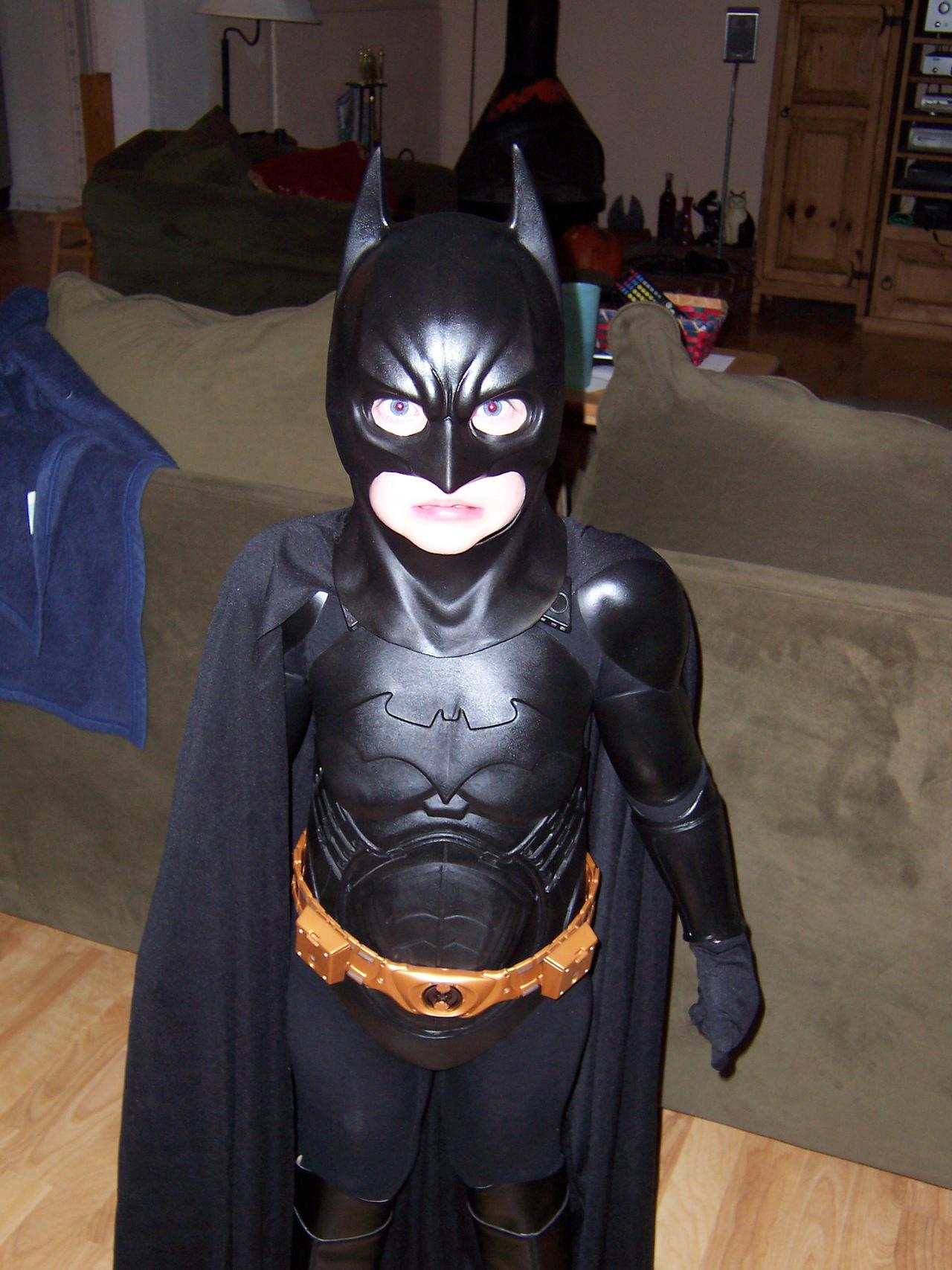 Little Kid Batman Did It