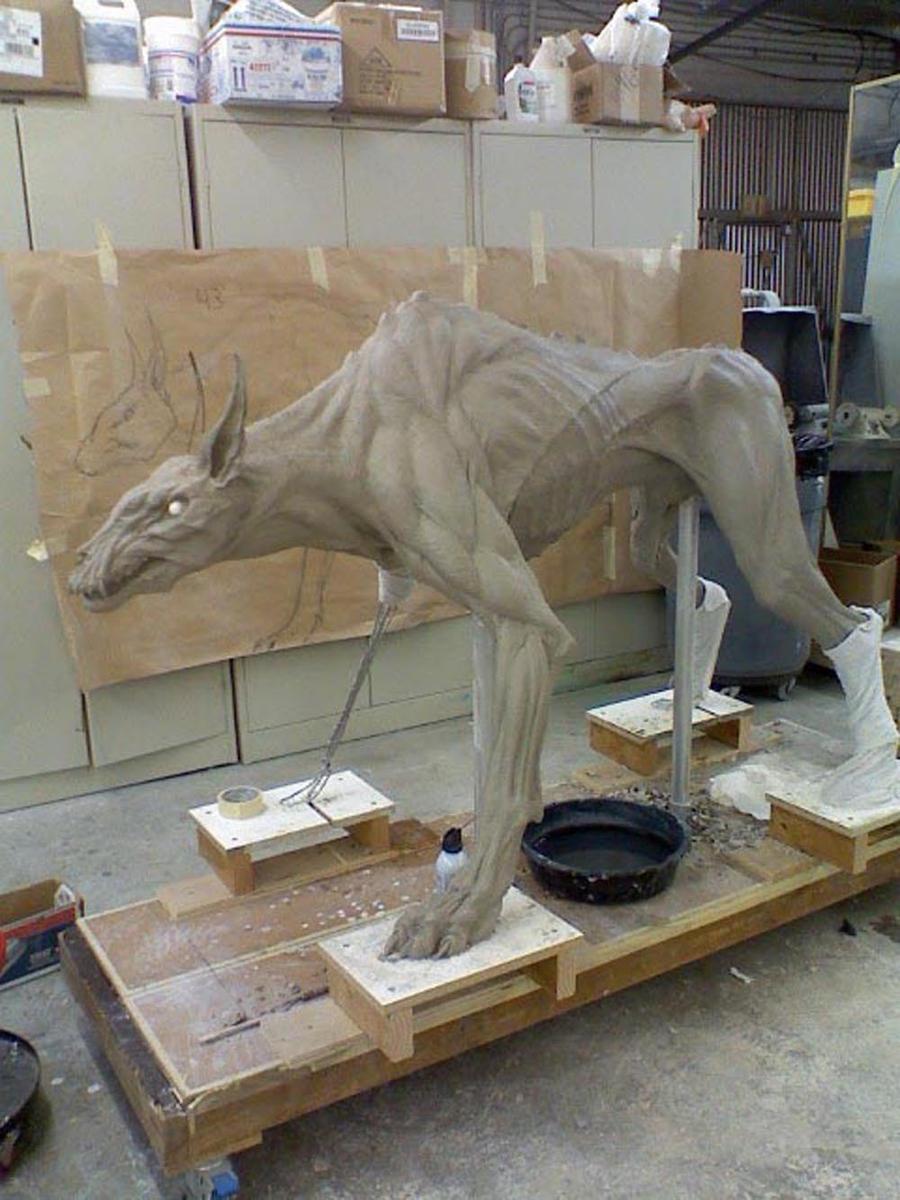 War Dod Sculpt. by DaveGrasso