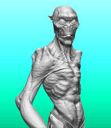 Personal ZBrush wip.